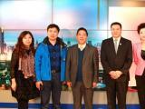 王延和做客大连电视台《财经热观察》畅谈龙商精神