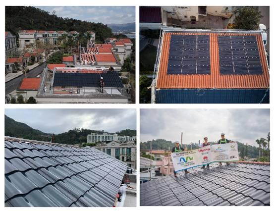 香港天地绿色能源公司部分项目剪影
